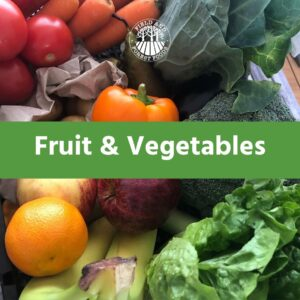 Fresh Fruit, Vegetables and Salad